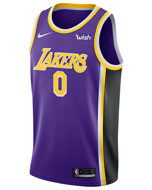 Los Angeles Lakers Kyle Kuzma Statement Edition Swingman Jersey