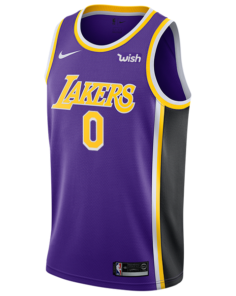 cheaper aea77 c2634 Los Angeles Lakers Kyle Kuzma 2019-20 Statement Edition Swingman Jersey