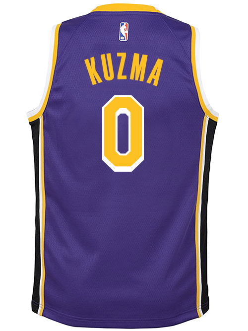 outlet store 85c87 d30b7 Los Angeles Lakers Youth Kyle Kuzma Statement Swingman Jersey
