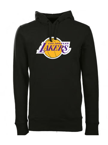 Los Angeles Lakers Screen Signature Full Zip Hood - Charcoal