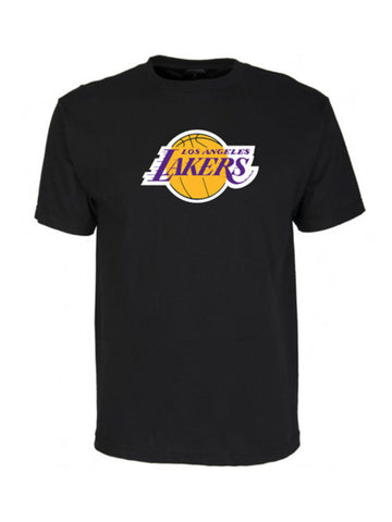 Los Angeles Lakers Primary Logo T-Shirt - Black