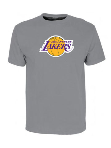 Los Angeles Lakers Primary Logo T-Shirt - Grey