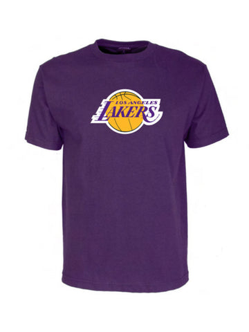 Los Angeles Lakers Primary Logo T-Shirt - Purple