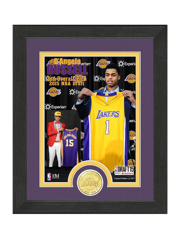 Los Angeles Lakers D'Angelo Russell Photomint Coin