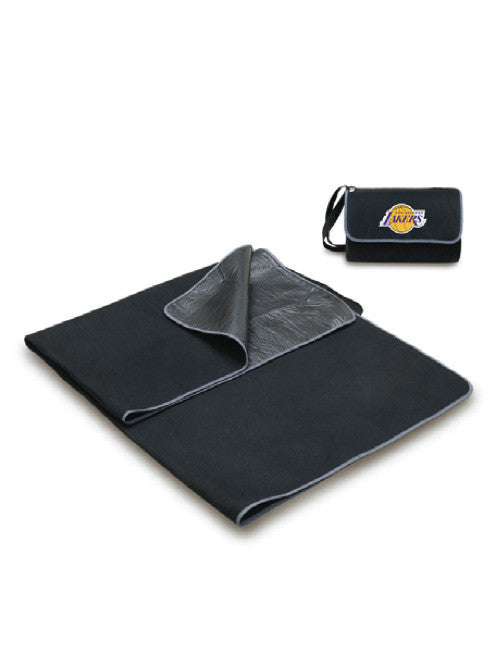 Los Angeles Lakers Black Blanket Tote
