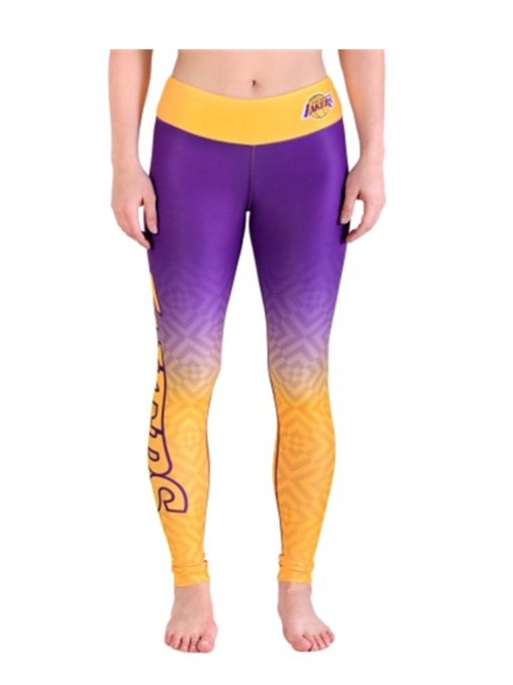 Los Angeles Lakers Women's Gradient Legging