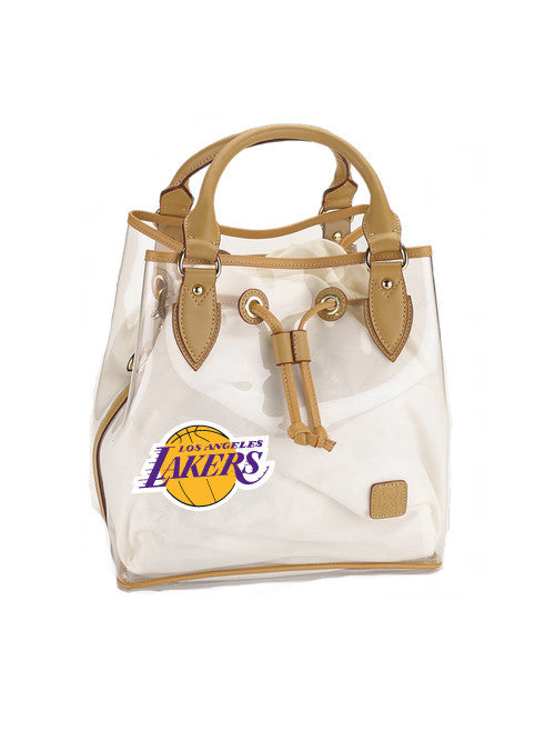 Los Angeles Lakers Dominie Clear Tote Bag