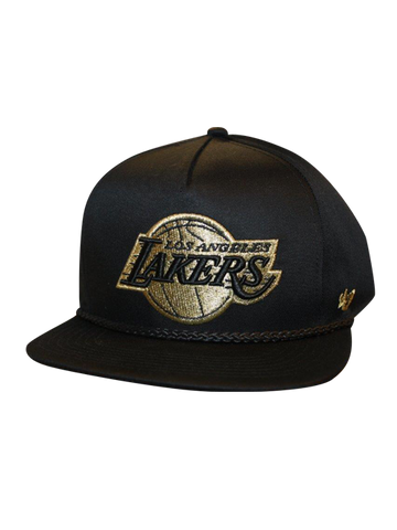 Los Angeles Lakers Mine Shaft Strapback Cap