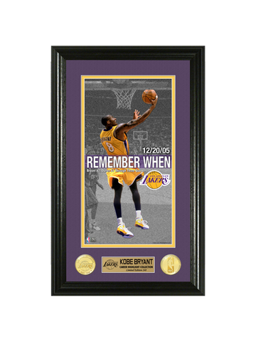 Los Angeles Lakers Kobe Bryant Remember When 62 Photo Mint