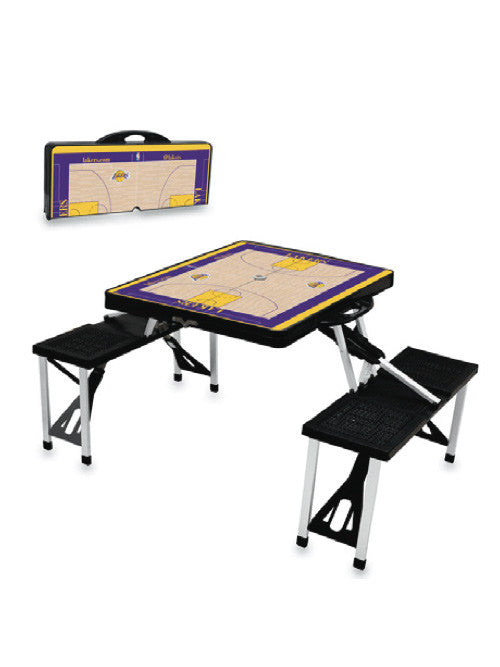 Los Angeles Lakers Picnic Table Sport Lakers Store - Picnic table los angeles