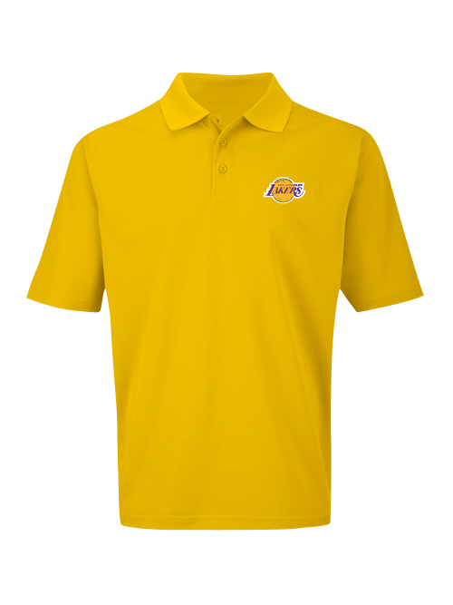 d82cdc62d Los Angeles Lakers Big and Tall Primary Logo Birdseye Polo