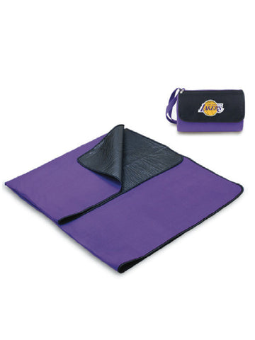 Los Angeles Lakers Purple Blanket Tote