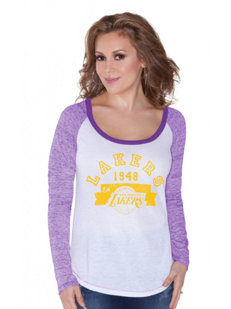 Los Angeles Lakers Women's Edie T-Shirt