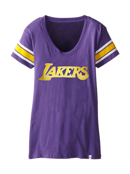 Los Angeles Lakers Women's Off Campus Scoop T-Shirt