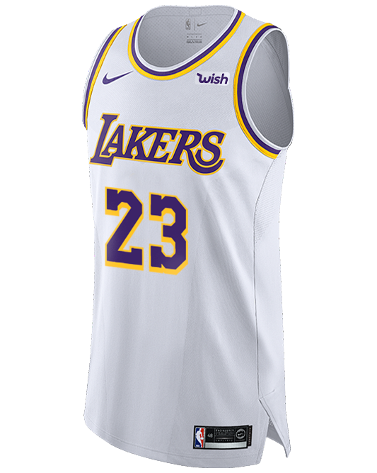 lakers white jersey