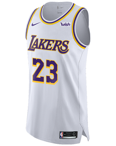 Los Angeles Lakers LeBron James 2019-20 Association Edition Swingman Jersey
