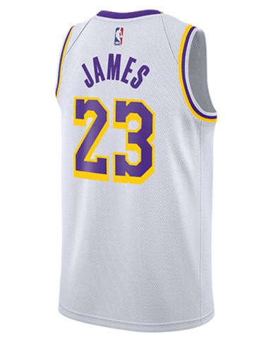 Los Angeles Lakers LeBron James 2019-20 Statement Edition Swingman Jersey