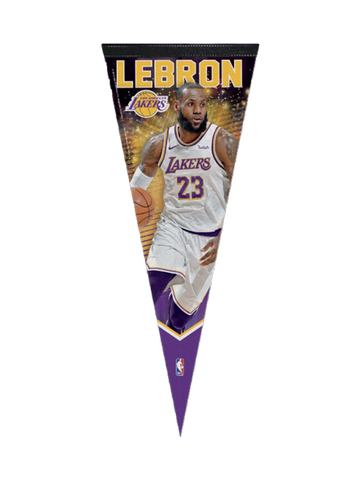 Los Angeles Lakers LeBron James Replica Jersey - Gold
