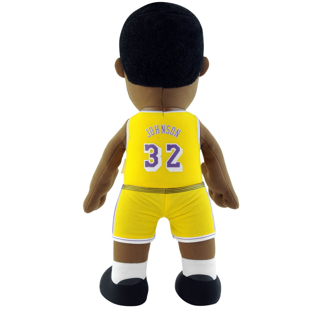 "Los Angeles Lakers Magic Johnson 10"" Plush Figure - Gold"