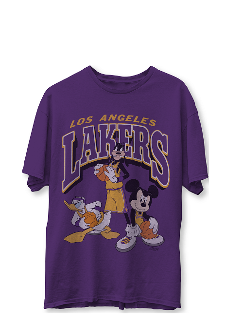 Pre-Order Los Angeles Lakers Disney Mickey Friends T-Shirt