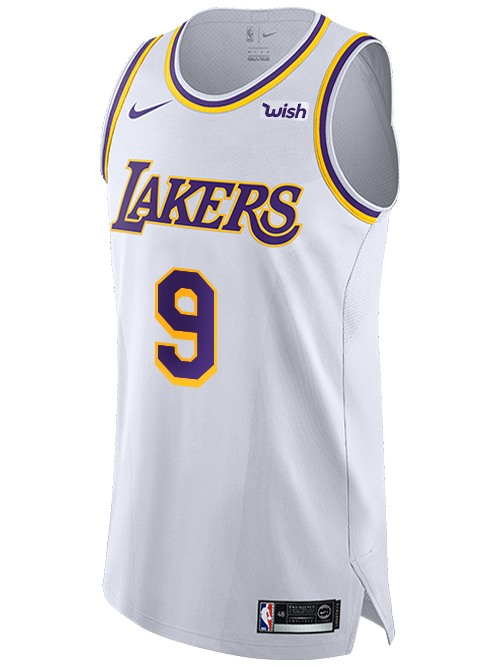Los Angeles Lakers Rajon Rondo 2019-20 Association Authentic Jersey