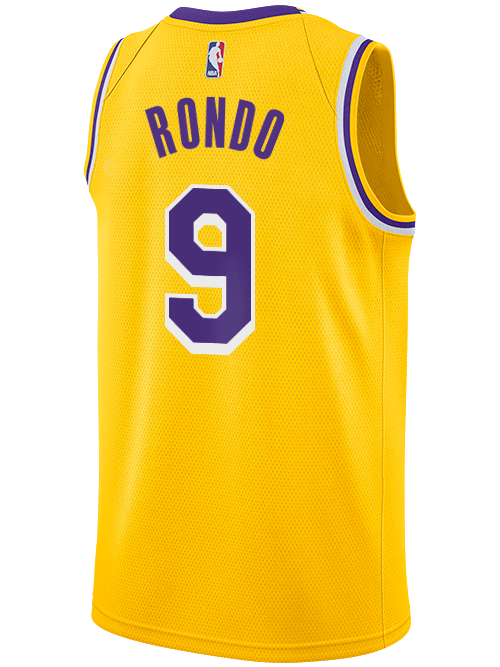 Los Angeles Lakers Rajon Rondo Icon Edition Swingman Jersey