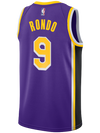 Los Angeles Lakers Rajon Rondo Statement Edition Swingman Jersey