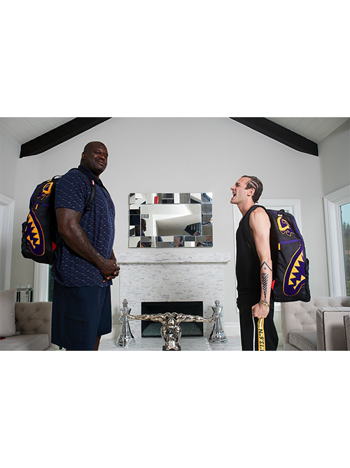 Los Angeles Lakers Shaquille O'Neal Super Size Backpack