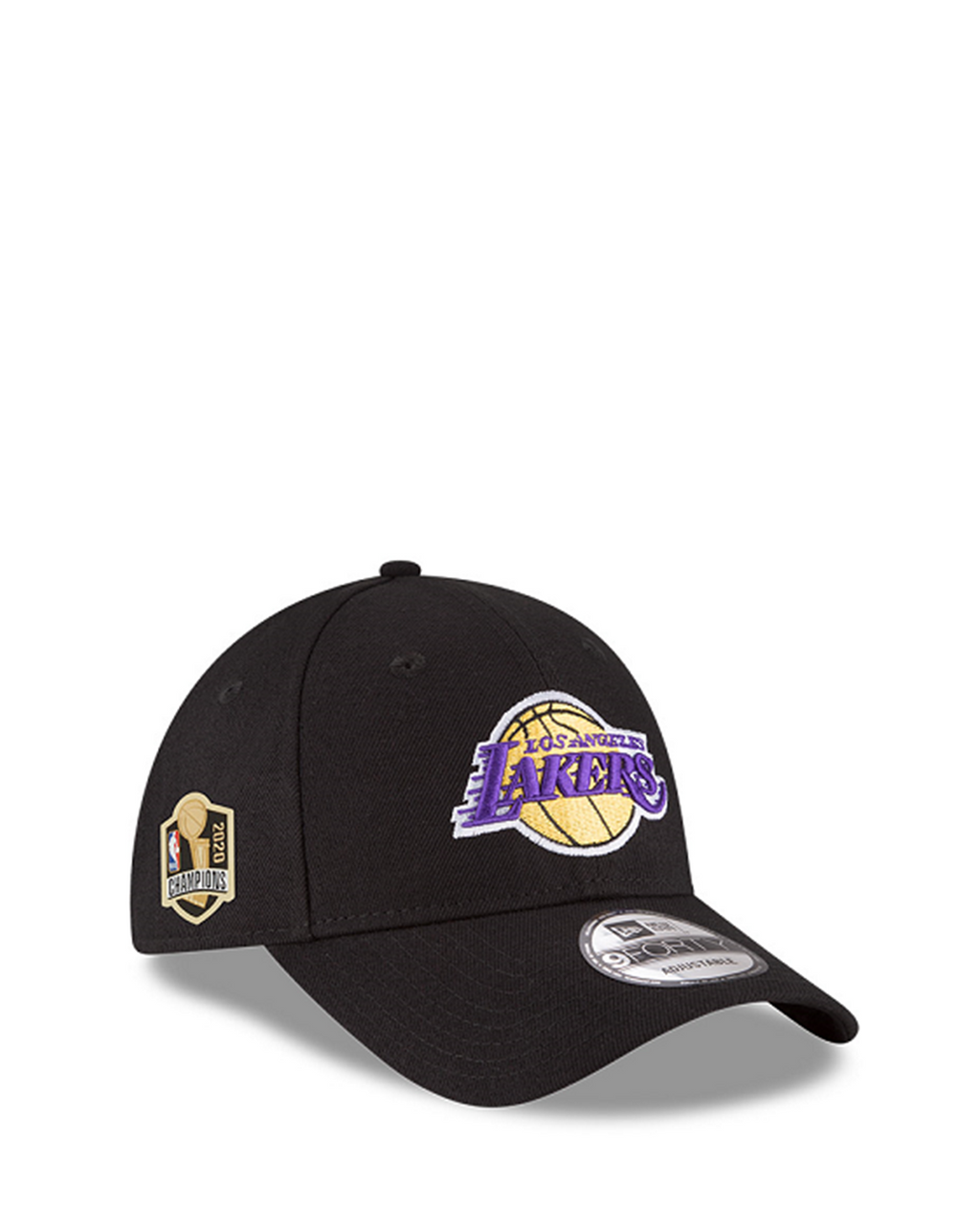 Los Angeles Lakers 2020 NBA Champions 9FORTY Side Patch Adjustable Cap