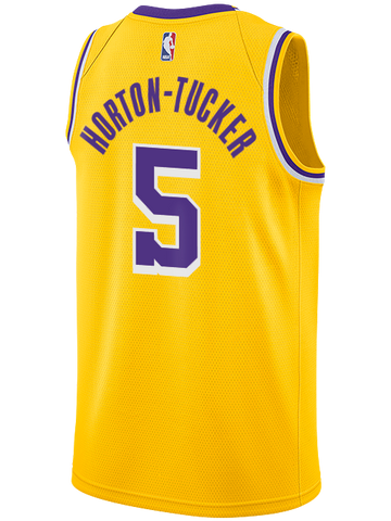 Los Angeles Lakers Magic Johnson Washed Out Swignman Jersey