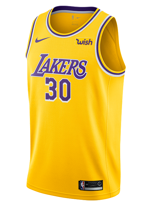 Los Angeles Lakers Troy Daniels Icon Swingman Jersey