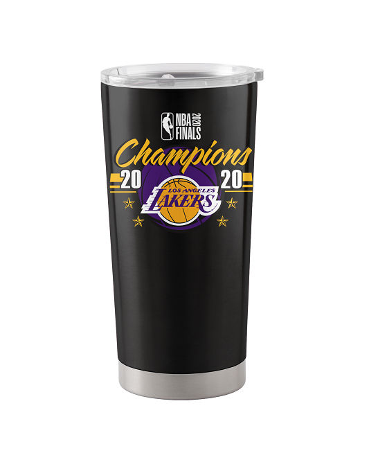 2020 NBA Champions 20oz Team Color Los Angeles Lakers Stainless Tumbler