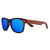 Gafas de sol con patillas de madera - Blue Animal