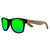 Gafas de sol con patillas de madera - Jungle Raven