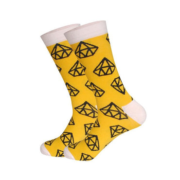 2x1 | Calcetines Diamantes Amarillo