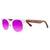 Gafas de sol de madera | Purple Ice Candy
