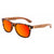 Gafas de sol con patillas de madera - Red Animal