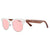 Gafas de sol con patillas de madera - Rose Ice Candy