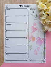 Load image into Gallery viewer, Meal Planner - Floral
