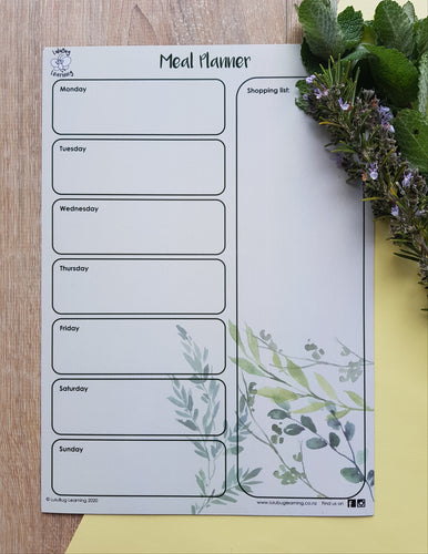 Meal Planner - Foliage
