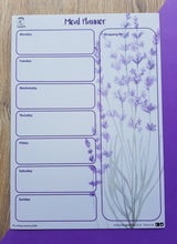 Load image into Gallery viewer, Meal Planner - Lavender