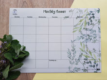 Load image into Gallery viewer, Monthly Planner - Foliage