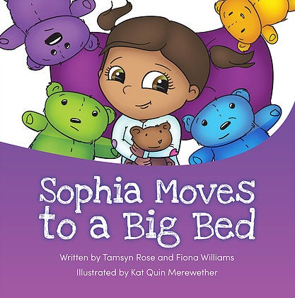 Sophia moves to a Big Bed Book