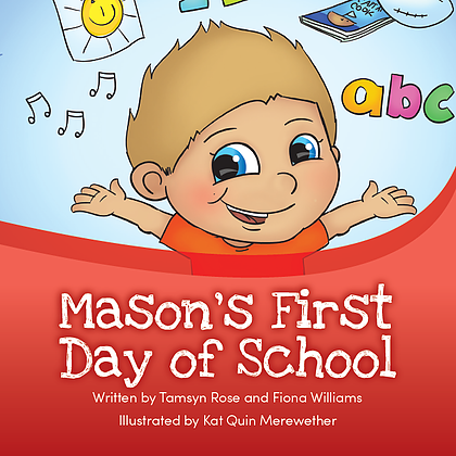 Mason's first day of School Book
