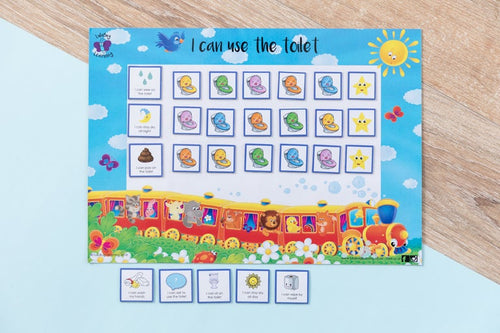 Toilet Training Chart - Safari Train