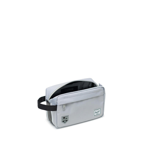 LA Kings Settlement Chapter Modern Travel Bag - Silver