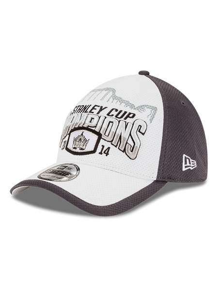 d91075cbf25 LA Kings Stanley Cup Champions Locker Room Flex Cap