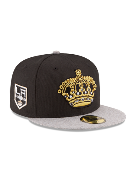 Los Angeles Kings 50th Anniversary Crown Melton Wool Cap