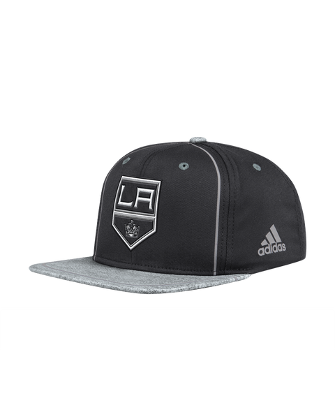 LA Kings Shield Logo Two Tone Snabback Cap