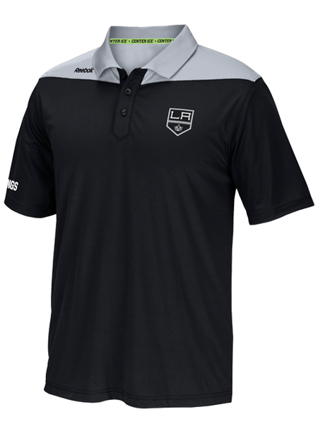 Los Angeles Kings Center Ice Statement Polo